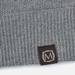 Nemen Seamless Knit Men's Hoodie Grey Melange photo- 3