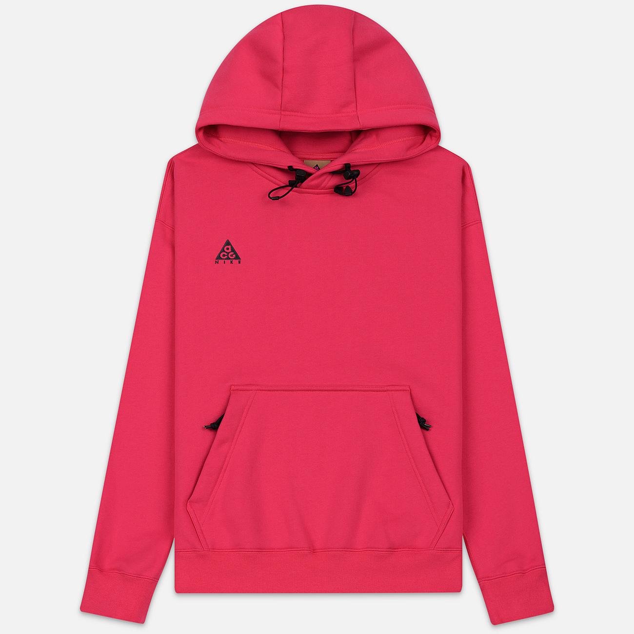 Мужская толстовка Nike ACG NRG Hoodie Rush Pink/Anthracite