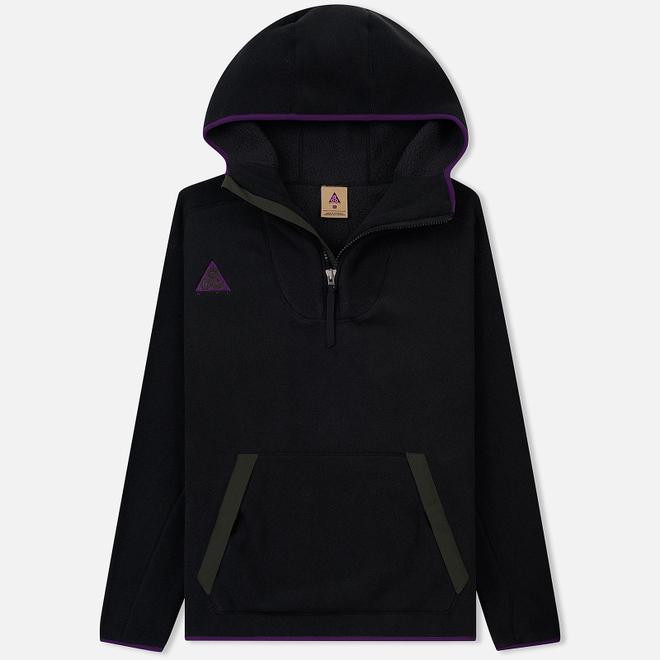 Мужская толстовка Nike ACG Sherpa Fleece Hoodie Black