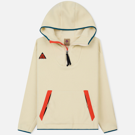 Мужская толстовка Nike ACG Sherpa Fleece Hoodie Light Cream