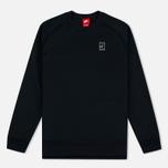 Мужская толстовка Nike Court Fleece Crew Black фото- 0
