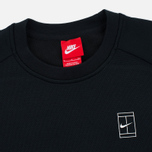 Мужская толстовка Nike Court Fleece Crew Black фото- 1