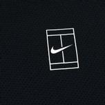 Мужская толстовка Nike Court Fleece Crew Black фото- 2