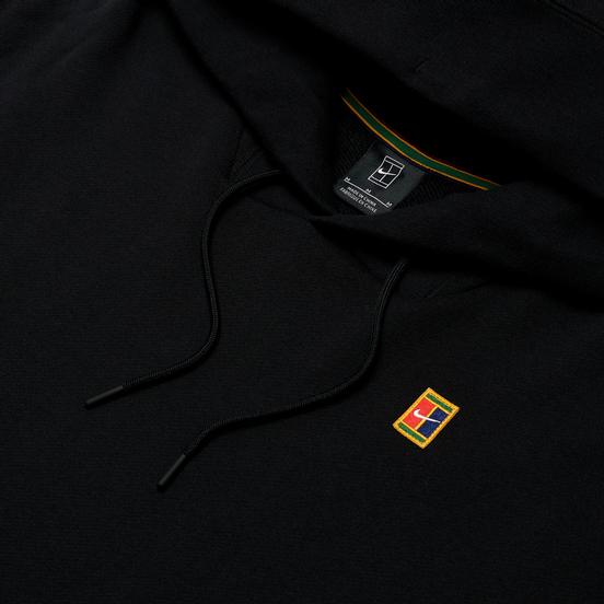 Мужская толстовка Nike Court Fleece Hoodie Black