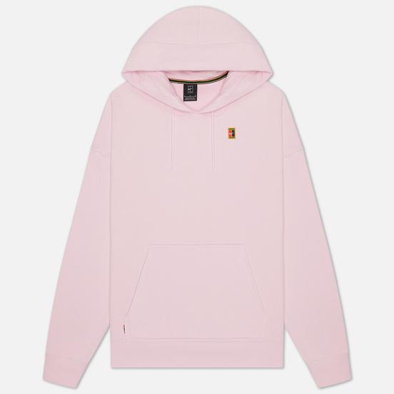 Мужская толстовка Nike Court Fleece Hoodie Pink Foam