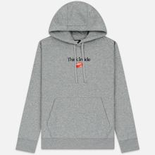 Мужская толстовка Nike Culture Brand Box Fleece Hoodie Dark Grey Heather фото- 0