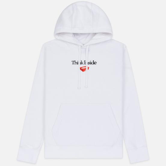 Мужская толстовка Nike Culture Brand Box Fleece Hoodie White