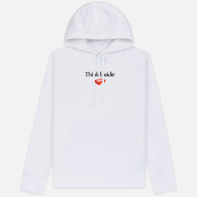 Мужская толстовка Nike Culture Brand Box Fleece Hoodie White