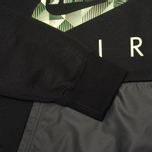 Мужская толстовка NIke Fleece Crew Hybrid Black фото- 3