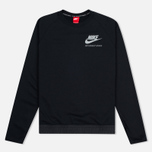Мужская толстовка Nike International Neck Crew Black/Red фото- 0