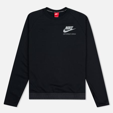 Nike International Neck Crew Men's Sweatshirt Black/Red