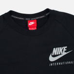 Мужская толстовка Nike International Neck Crew Black/Red фото- 1