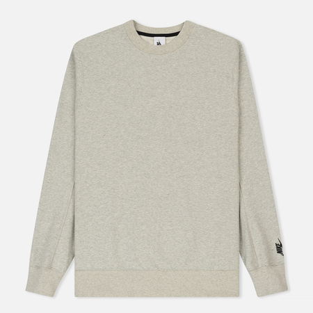 Мужская толстовка Nike NikeLab Essential Fleece Crew Grey Heather