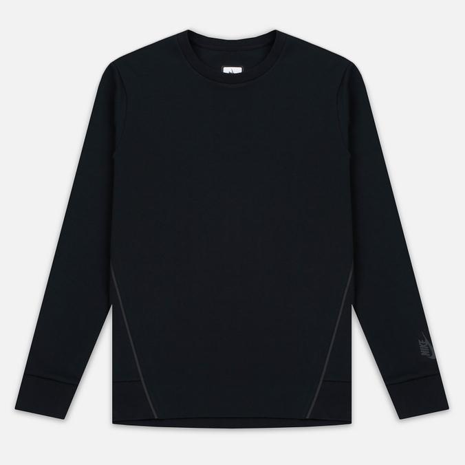 Мужская толстовка Nike Essentials Tech Fleece Crew Black