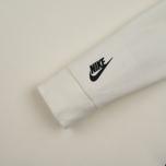 Мужская толстовка Nike Essentials Tech Fleece Crew Sail/Black фото- 2