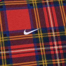 Мужская толстовка Nike NRG Crew Swoosh Stripe Plaid University Red фото- 2