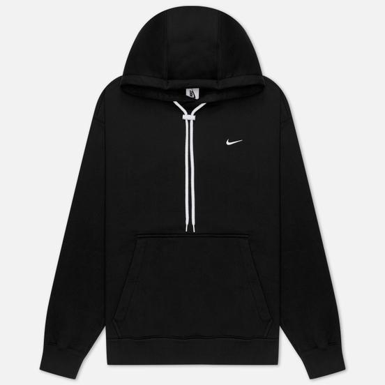 Мужская толстовка Nike NRG Embroidered Swoosh Hoodie Team Black/White