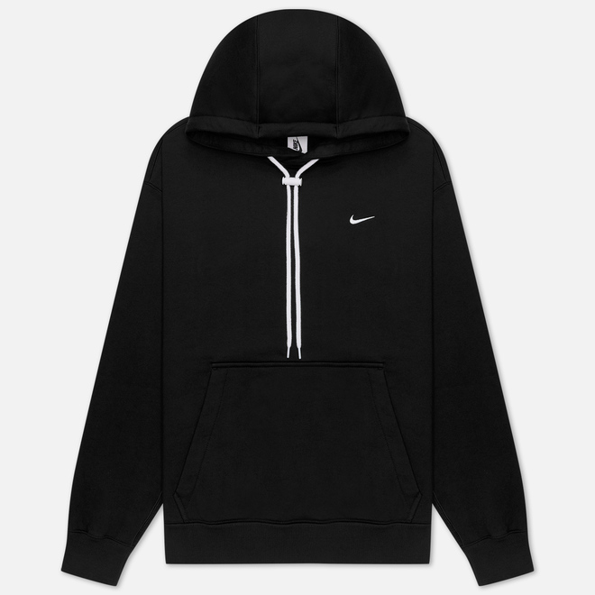 Мужская толстовка Nike NRG Embroidered Swoosh Hoodie Team Black/White
