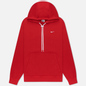 Мужская толстовка Nike NRG Embroidered Swoosh Hoodie Team Gym Red фото - 0