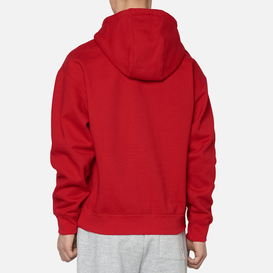 Мужская толстовка Nike NRG Embroidered Swoosh Hoodie Team Gym Red