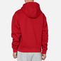 Мужская толстовка Nike NRG Embroidered Swoosh Hoodie Team Gym Red фото - 3