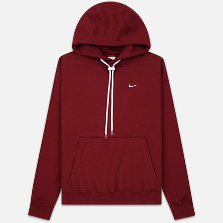 Мужская толстовка Nike NRG Embroidered Swoosh Hoodie Team Red/White
