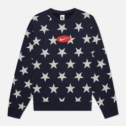 Мужская толстовка Nike NRG Star Crew Fleece Obsidian