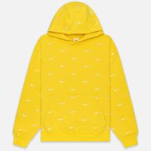 Мужская толстовка Nike NRG Swoosh Logo Hoodie Chrome Yellow фото- 0