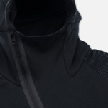 Мужская толстовка Nike Pleated Tech Fleece Hoody Black фото- 2