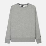 Мужская толстовка Nike SB Crew Icon Fleece Essential Dark Grey Heather/Black фото- 0