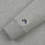 Мужская толстовка Nike SB Crew Icon Fleece Essential Dark Grey Heather/Black фото- 2
