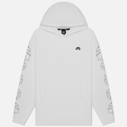 Мужская толстовка Nike SB Graphic Hoodie Paradise White/Midnight Navy