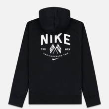 Мужская толстовка Nike SB Skate Hoodie Black/Summit White фото- 5