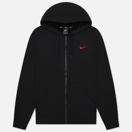 Мужская толстовка Nike SB x OSKi ISO Hoodie Black/University Red