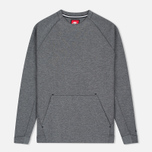 Мужская толстовка Nike Tech Fleece Crew Carbon Heather фото- 0