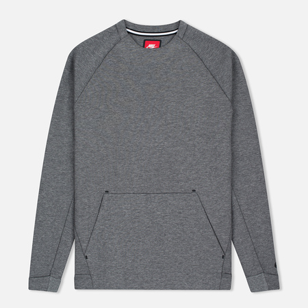 Nike Tech Fleece Crew Men's Sweatshirt Carbon Heather