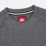 Мужская толстовка Nike Tech Fleece Crew Carbon Heather фото- 1