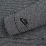Мужская толстовка Nike Tech Fleece Crew Carbon Heather фото- 2