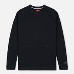 Мужская толстовка Nike Tech Fleece Crew Triple Black фото- 0