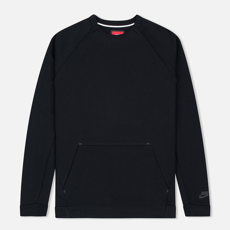 Nike Tech Fleece Crew Men's Sweatshirt Triple Black