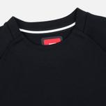 Мужская толстовка Nike Tech Fleece Crew Triple Black фото- 1