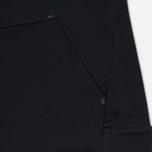 Мужская толстовка Nike Tech Fleece Crew Triple Black фото- 3