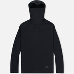 Мужская толстовка Nike Tech Fleece Funnel Hoody Black фото- 0