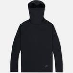 Мужская толстовка Nike Tech Fleece Funnel Hoody Black фото- 0
