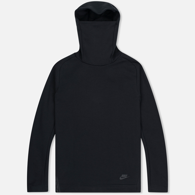 Мужская толстовка Nike Tech Fleece Funnel Hoody Black