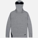 Мужская толстовка Nike Tech Fleece Funnel Hoody Grey фото- 0