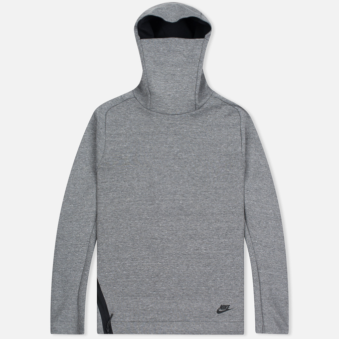 Мужская толстовка Nike Tech Fleece Funnel Hoody Grey