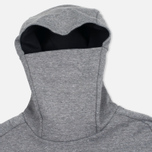 Мужская толстовка Nike Tech Fleece Funnel Hoody Grey фото- 1