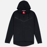 Мужская толстовка Nike Tech Fleece Windrunner Full Zip Black фото- 0