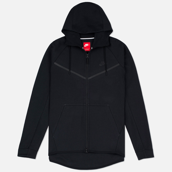 Мужская толстовка Nike Tech Fleece Windrunner Full Zip Black